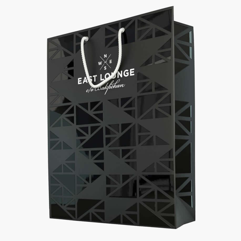 Exklusiva papperspåsar med tryck