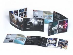 Liggande folder 6 sidor - Referensbild