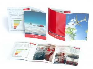 Stående folder 6 sidor - Referensbild