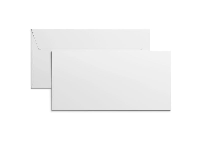 E65-kuvert med tryck