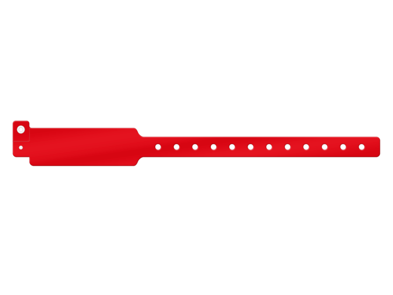 Festivalarmband Plast Standard - 25 mm