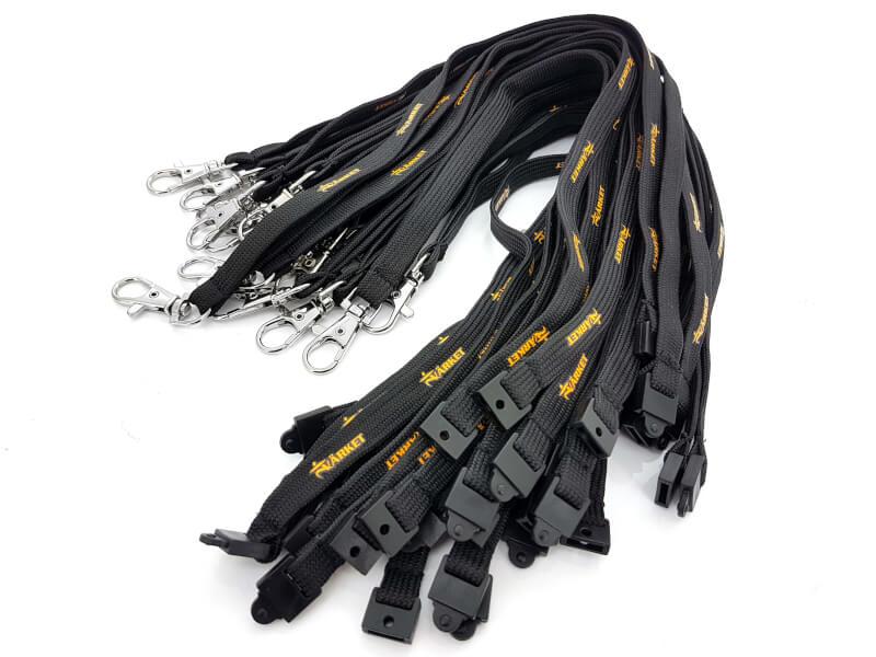 Glöm inte säkerhetsfästet till dina nyckelband