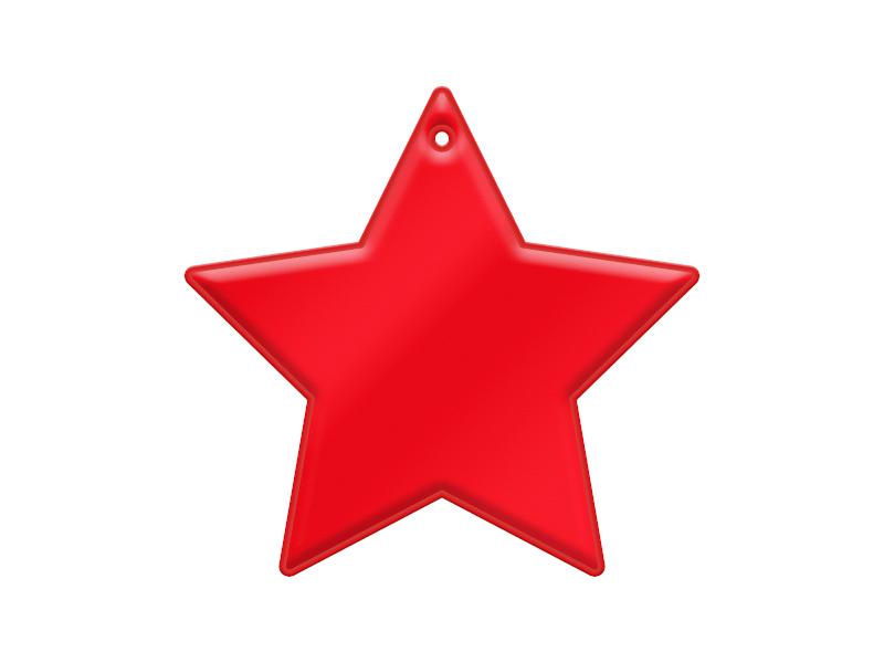 Mjuk Reflex Stjärna