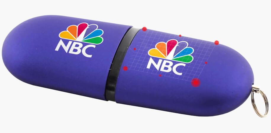 USB-minnen med egen logo