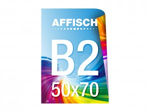 Affisch B2-D - 50x70 cm