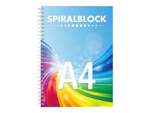Spiralblock A4 - Konfigurationsbild
