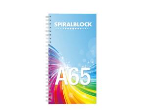 Spiralblock A65 - Konfigurationsbild